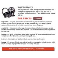 Buy cheap Axle Tech Part from wholesalers