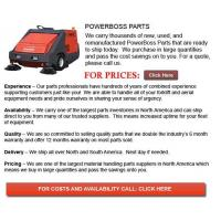 Buy cheap PowerBoss Parts from wholesalers