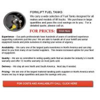 Buy cheap Fuel Tank for Forklift from wholesalers