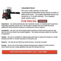 Buy cheap Adjustable Booms from wholesalers