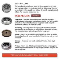 Buy cheap Forklift Mast Rollers from wholesalers