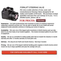 Buy cheap Forklift Steering Valves from wholesalers