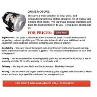Buy cheap Forklift Drive Motor from wholesalers