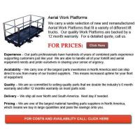 Buy cheap Aerial Work Platforms from wholesalers
