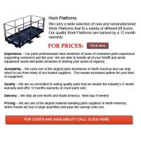 Buy cheap Work Platform from wholesalers