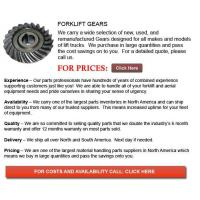 Buy cheap Gears for Forklift product