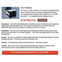 Buy cheap Drum Clamps product