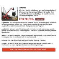 Buy cheap Forklift Winches product