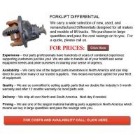 Buy cheap Forklift Differential product