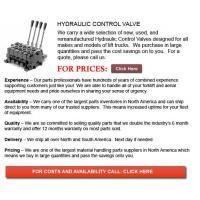 Buy cheap Forklift Hydraulic Control Valve from wholesalers