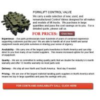 Buy cheap Forklift Control Valve from wholesalers