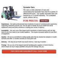 Buy cheap Forklift Spreader Bars from wholesalers