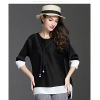 Buy cheap Loose Seven-minute Sleeve T-shirt product