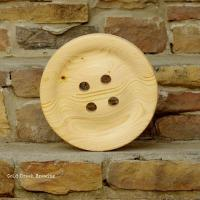 China Large Wooden Buttons on sale