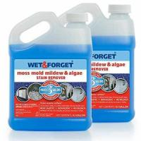 Buy cheap Wet & Forget Moss, Mold, Mildew & Algae Stain Remover .5 Gallon 2 pack product