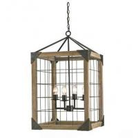 Buy cheap Wooden shade shop & home chandelier lights product