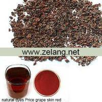 Buy cheap Natural Dyes Price Grape Skin Red Sale product