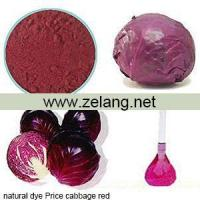 Buy cheap Natural Dyes Price Cabbage Red Sale product
