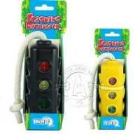 China Dog toys Flashing Traffic Light Retriever Motion Activated Electronic Interactive Dog Toy on sale