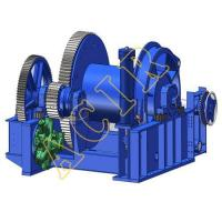 Buy cheap 45-150T Electric Hydraulic Waterfall Type Anchor Handling Towing Winch (AHTW) from wholesalers