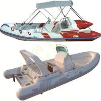 Buy cheap PVC Hypalon Inflatable Rib Rubber Boat product