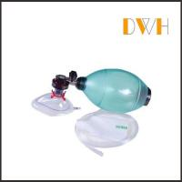 Buy cheap PVC Bag Valve Mask resuscitator for Single Use in Ambulance product