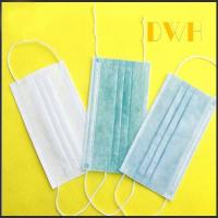 Buy cheap 3-ply earloop disposable non woven medical surgical face mask product