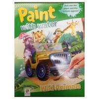 Buy cheap Paint with Water - Wild Animals Books product