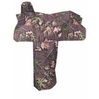 China Tough 1 Heavy Denier Nylon Saddle Cover in Prints, Timber on sale