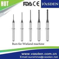 Buy cheap Compatible Wieland Carbide System Zirconia CadCam Milling Tool Dental Burs product