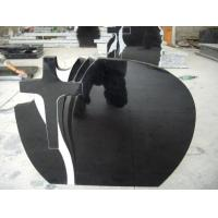 China Other Natural Stone Shanxi Black Granite Tombstone on sale