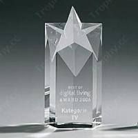 Buy cheap 3D Laser Crystal Trophies Item#: CCT-STAR-1206 from wholesalers
