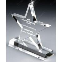 Buy cheap 3D Laser Crystal Trophies Item#: CCT-STAR-1203 from wholesalers