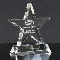 Buy cheap 3D Laser Crystal Trophies Item#: CCT-STAR-1204 from wholesalers