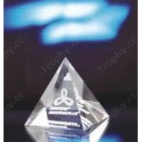Buy cheap Pyramid Crystal Trophy Item#: CCT-PYRAMID-1202 from wholesalers