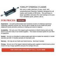 Buy cheap Steering Cylinder for Forklifts from wholesalers