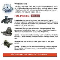 Buy cheap Forklift Water Pumps from wholesalers