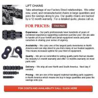 Buy cheap Forklift Chains from wholesalers