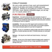 Buy cheap Forklift Engine from wholesalers