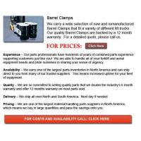 Buy cheap Barrel Clamps from wholesalers