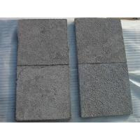 Buy cheap Flamed black basalt G684 paver stone product