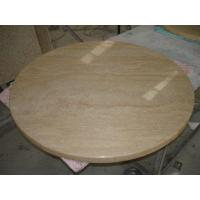 Buy cheap Noce Travertine Brown Travertine Marble Countertops Company Caring for Marble Countertops in Kitchen product