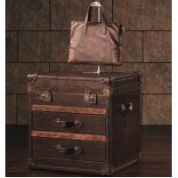 Buy cheap Vintage Leather Cigar Living Room Lamp Table from wholesalers
