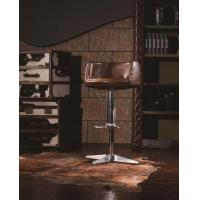 Buy cheap Retro Style Vintage Leather Finishing Bar Chair from wholesalers