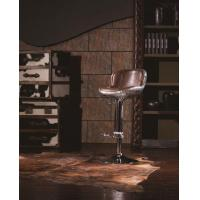 Buy cheap Vintage Leather Cigar Elevated Barstool from wholesalers