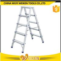Buy cheap 5 step+5 step aluminum 10 steps double side ladder from wholesalers