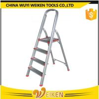 Buy cheap 4 step aluminum ladder foldable step stool for house use from wholesalers