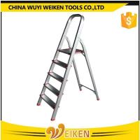 Buy cheap 5 steps aluminum step ladder from wholesalers