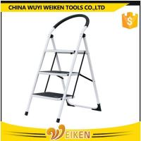 Buy cheap 3 steps folding steel step ladder from wholesalers