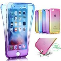 China 360  Fully Covered Protection Gradient TPU Soft Case wholesale